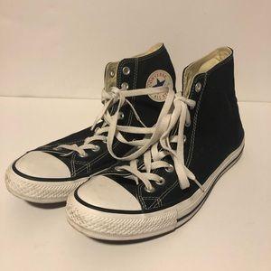 Unisex Black High Top Converse